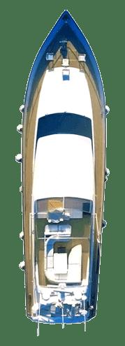 Yacht using Electronic Fouling Control AKA Ultrasonic Antifouling
